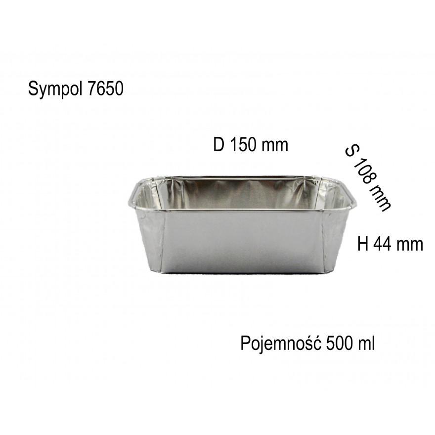 Foremka aluminiowa 7650 500 ml