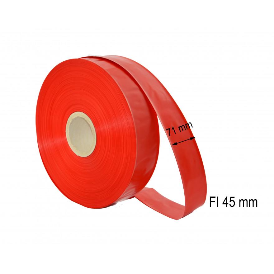 Osłonka poliamidowa fi 45 czerwona 500 m