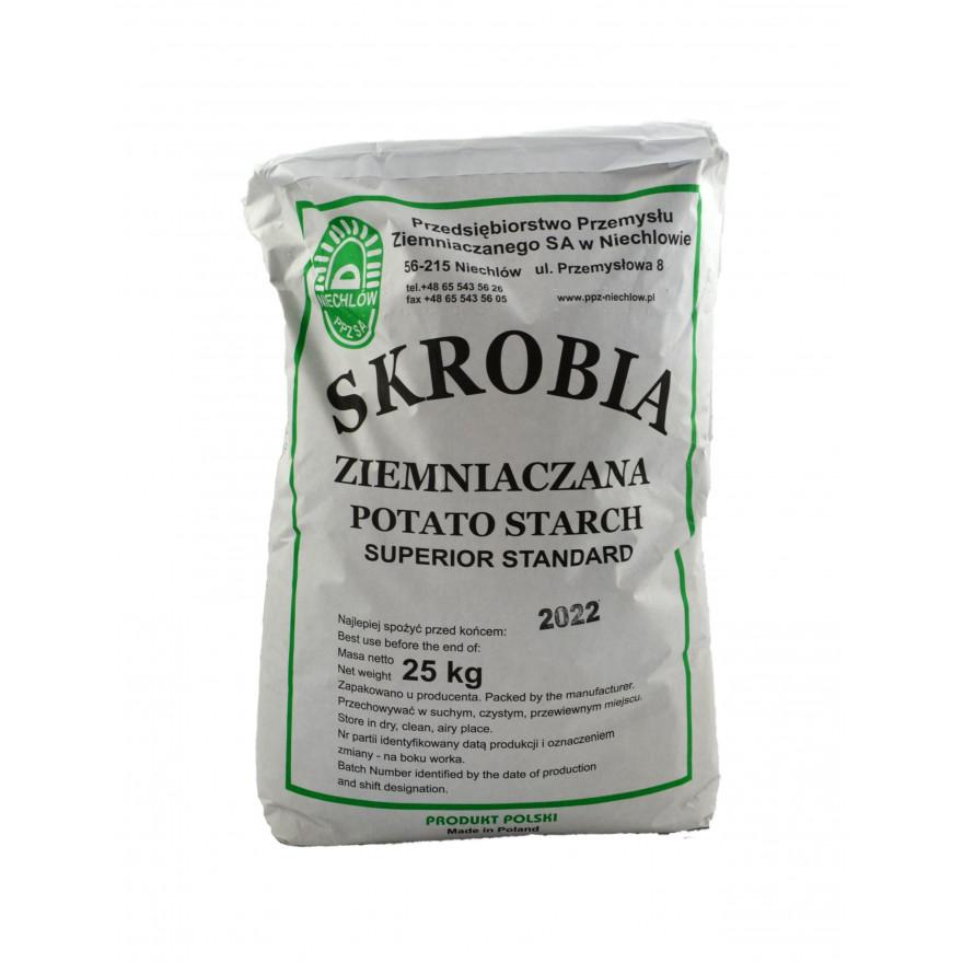 Skrobia ziemniaczana 25 kg